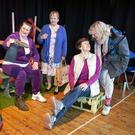 Ashford ICA in rehearsal for 'Towpath' by Robert Iles which will be performed at the Wicklow ICA Drama Festival