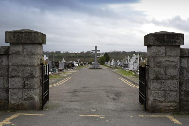 St Gabriel's Cemetery in Arklow, where the vandalism occurred