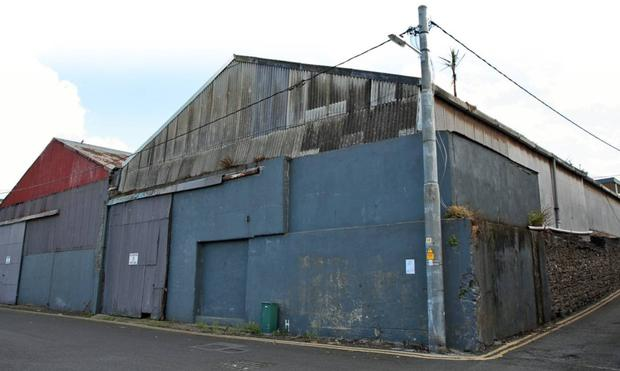 Two warehouses will be demolished to make way for the hotel.
