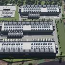 An artist's impression of the new Echelon data centre that will be developed in Arklow.