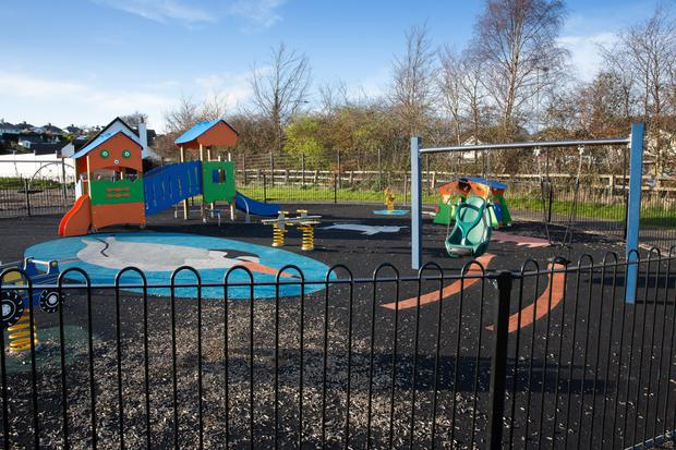 Incidents have been reported at both the Little Tern Playground in Kilcoole (pictured) and the playground in Greystones