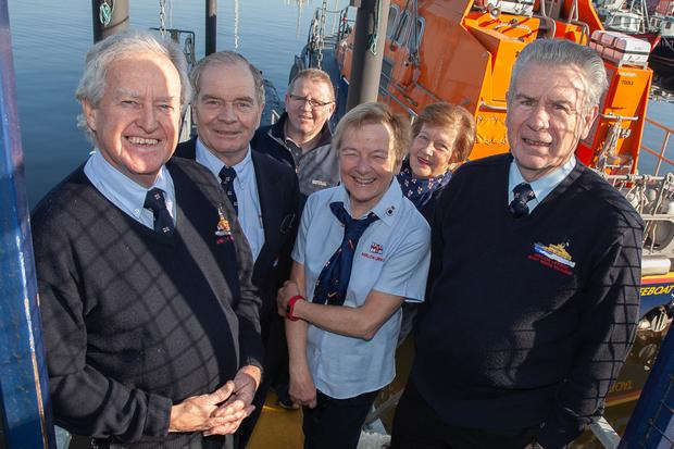 (From left) Tony Fennell, chairman Maurice Leahy, Bebe Redmond, Marian Phipps and Tommy Nolan, who have been elected to the Arklow RNLI Fundraising Committee