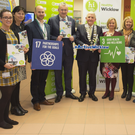 Denise O'Shea, Siobhan Fitzpatrick, Andrew McBride, Frank Curran, Chief Executive of Wicklow County Council, Cllr Pat Vance, cathaoirleach of the county Council, Cllr Grainne McLoughlin, Fionuala Curry, Brian Carty, Michael Nicholson, Aisling Hubbard and Anne Kavanagh at the launch.