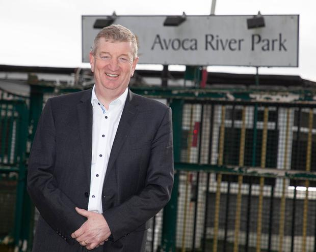 Deputy Pat Casey at Avoca River Park, where it's proposed to build the data centre