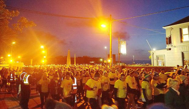 The start of Darkness into Light on Saturday morning