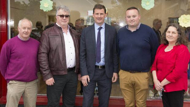 Peter Geoghan, Higher Executive Officer; Niall Fallon, Acting Principal Assistant; Eoghan Ryan, Principal Officer; Martin Cahill, Supervisor and Assistant Supervisor Norma Glennon