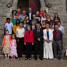 Members of Arklow's Methodist community outside the Ferrybank Church