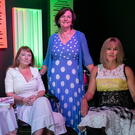 Authors Adele O'Neill and Eleanor O'Reilly with Imelda McDonagh (centre) at the Asgard Theatre