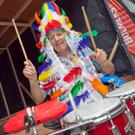 Tony 'Bongos' Byrne taking part in last year's Arklow Seabreeze Festival