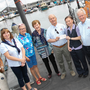 Agata Szymamska (third from right) from Arklow Credit Union, sponsors of the Arklow Maritime Queen Competition, presenting a cheque to Majella Myler, Bebe Redmond, Marian Phipps, Morice Leahy, Tony Fennell and Tommy Nolan from Arklow RNLI