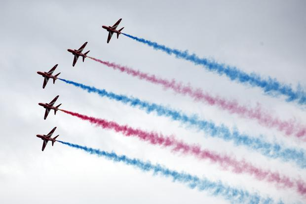 Things on the up as air display weekend arrives - Independent ie