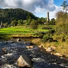 Glendalough: third most visited among free sites