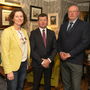 Deborah Meghan from Coillte, Cllr Pat Kennedy and guest speaker Simon Wall, Senior Architect at Mayo County Council