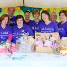 Committee members and volunteers at the Wicklow Parish barbecue in aid of St Luke's Hospital, Rathgar, which was held at Kilmullen House in Moneystown. Photos: Leigh Anderson