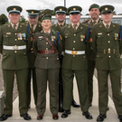 Des O'Dowd, Suzanne Wall, Tony Fields, Ronan Donoghue, Paul Bailey, Adrian Byrne and Paul O'Donovan of the 7th Infantry Division