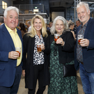 John Reynolds, Jenny Westrup, Sinead Reynolds and Johnathan Westrup at the launch of Wicklow Wolf's new brewery in Newtownmountkennedy. Photos: Andres Poveda