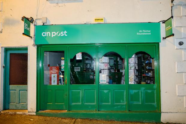 The current postmaster of Roundwood Post Office is due to retire in January.