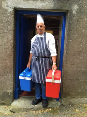 Wicklow Meals on Wheels chef Alan Cronin