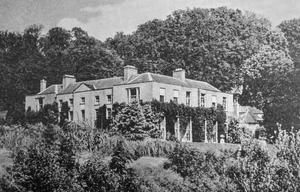 A photograph of the original house at Tinnehinch, Enniskerry