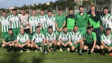 The Wicklow Rovers LSL team who clinched the Major 1D crown after beating Corduff FC at Whitegates last weekend