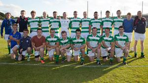 The Shamrocks team that played in the 2013 Senior football championship, losing first to Rathnew and then to Kiltegan. Photo: Dave Barrett