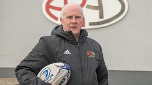 Arklow RFC CCRO Barney Hynes has enjoyed a life filled with sporting adventures and is now inspiring the next generation in schools from Arklow to Tinahely