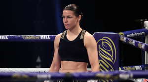 Katie Taylor is facing a massive test on May 1. Photo by Mark Robinson / Matchroom Boxing via Sportsfile