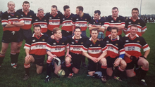 The Wicklow first team from 2002/03 with Dan McKellar (back, fifth from left).