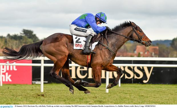 Hurricane Fly with Ruby Walsh
