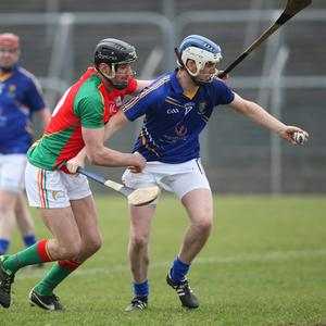Sean Murphy, Carlow and Martin O' Brien, Wicklow . Photo Joe Byrne