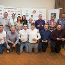 Award winners at the Tommy Earls Wicklow and District League awards 2016 in the Parkview Hotel, Newtown. Photos: Michael Kelly