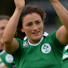 Irish Rugby Sevens captain, Lucy Mulhall