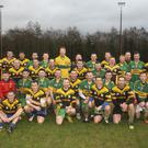 The Annacurra and St Brigid's teams after the Tom Carr Memorial Cup final. Photos: Garry O'Neill