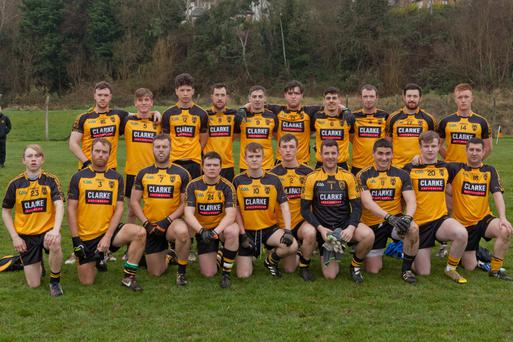 The Ashford team who got the better of Deckie Byrne's Laragh in their opening Murphy's Hotel Division 3 clash