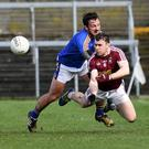 Wicklow's Stephen Kelly in action against Westmeath's Jamie Gonoud