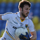 Wicklow captain Stephen 'Chester' Kelly who will lead the footballers out to face Louth this Sunday