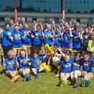 The Wicklow Wasps players that took part in the first ever Psi indoor hockey showdown