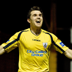 Davy O'Sullivan in action for Longford Town