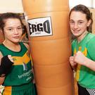 Enniskerry BC's Daina Moorehouse and Arklow's Niamh Molloy