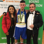 Eve Carr, Sean Purcell and Paul O'Toole from Enniskerry Boxing Club.
