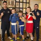 Ben Lynch, Johnny Lynch, Jade Smith, Darren O'Toole Jnr, Darren O'Toole from Enniskerry Boxing Club