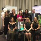 Some of the Wicklow group at the national awards last weekend