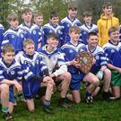The Avondale CC team after their superb victory in the first year 'B' football final against Blessington CC