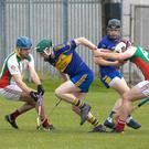 Action from the SHC clash of Kiltegan and Carnew