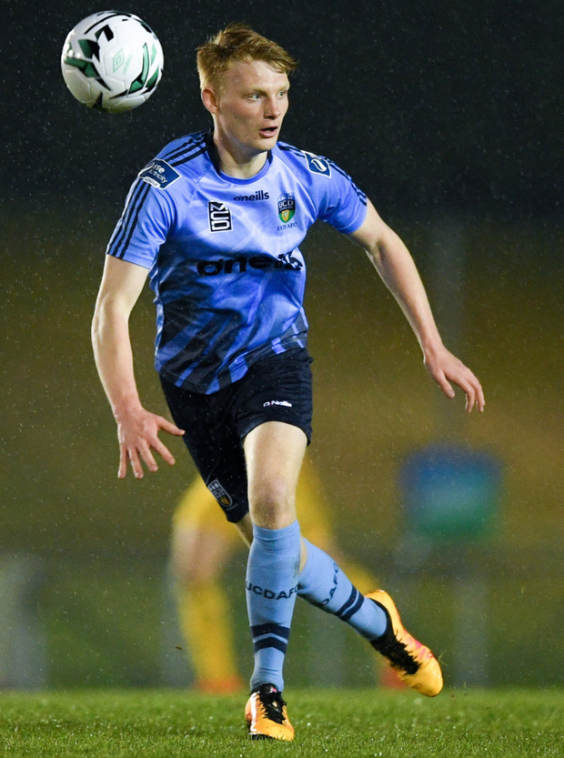 Arklow's Liam Scales is expected to play League One football with Bristol Rovers next season