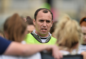 Wicklow ladies manager Mark Murnaghan