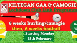 Kiltegan's new Lockdown Club Link programme is up and running