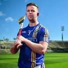 Wicklow hurling captain Warren Kavanagh in attendance during the Christy Ring Cup competition launch at Croke Park in Dublin recently