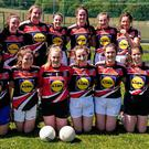 Loreto Bray, winners of the Senior 'B' girls football championship.