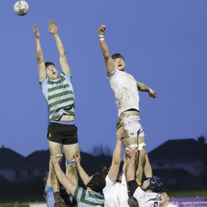 Climbing high during the O'Connor Cup game
